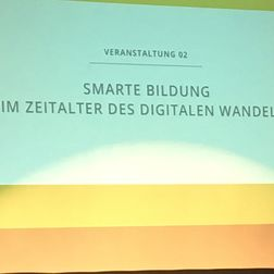Thementag Smart Country Smarte Bildung - Impressionen