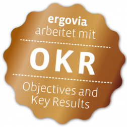 ergovia arbeitet mit OKR – Objectives and Key Results